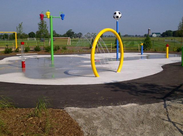 Cowan Park Spray Pad
