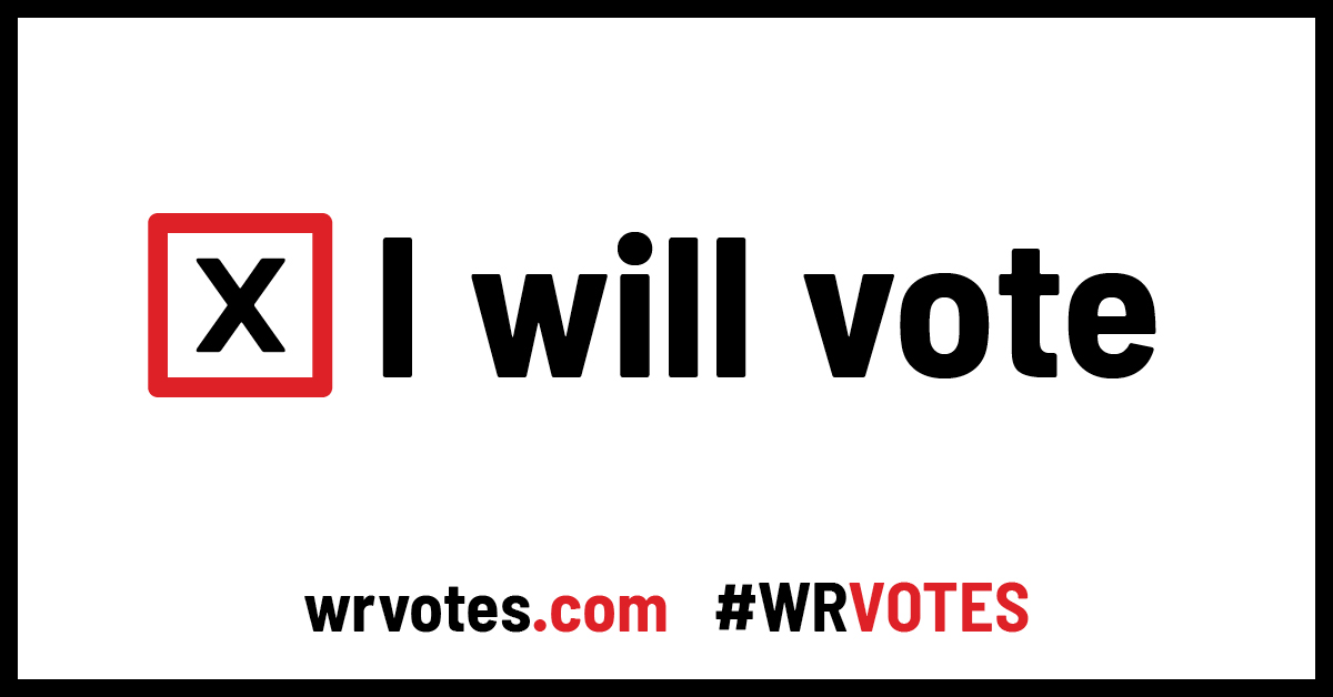 I Will Vote Logo